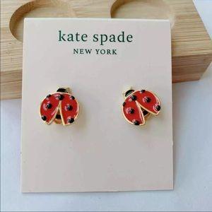 Kate Spade ladybug studs